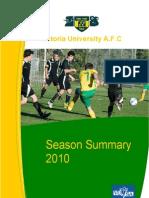 Season Summary 2010final