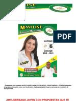 Propuestas al Concejo - Maylline Arboleda Hernández