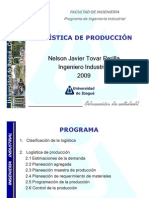 2. LOGSTICA DE PRODUCCIN