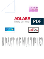 A Project Report on Impact of Multiplex on Indian Exihibition Industry