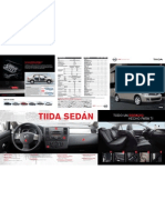 Catalogo Tiida Sedan