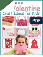 21 Valentine Craft Ideas for Kids