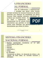 Mercados Financieros y Sistema Financiero Nacional