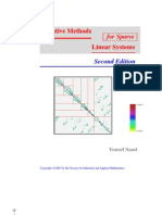 2nd Ed Saad Iterative Methods for Sparse Linear Systems