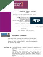 Condiciones de Extranjeros Derecho Internacional Privado