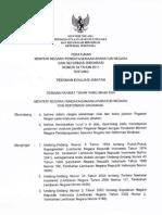 PermenPAN&RB 34 2011 Ttg Pedoman Evaluasi Jabatan
