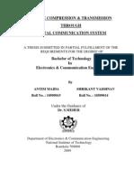 Image Compression & Transmission Through Digital Communication System