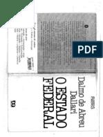 O Estado Federal - Dalmo Dallari