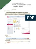 MS Access - Introducción - Creacion de BD y Tablas - Campos
