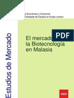 El Mercado de La Biotecnologia en Malasia