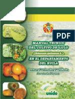 Manual Tecnico Del Lulo en El Huila