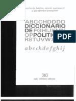 Democracia del Diccionario de Política