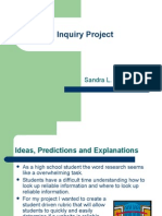 Sandra D_Inquiry project 1