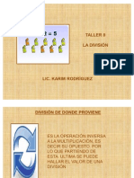 Taller 8 Division