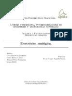 Filtros pasivos, resultados experimentales