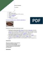 Ingredientes Para Marquesa de Chocolate