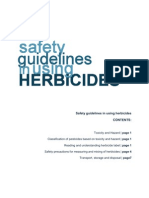 Safety Guidelines in Using Herbicides