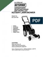 Lawnmower Craftsman l0010526