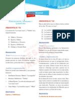 Solucionario Cultura General - Admision UNI 2011-2 - Cesar Vallejo