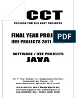NCCT-2010 Java Software IEEE Project Titles