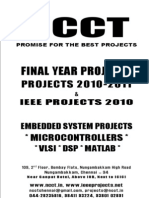 NCCT-Jammer Project Titles, 2011