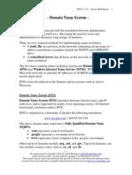 INF DNS Fundamentals
