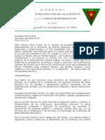 Carta Secret a Rio de Gobernacion Original