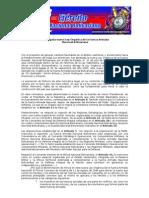 Resumen de Prensa de la Ley Orgánica de la Fuerza Armada Nacional