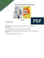 El Programa Del NSDAP y Sus Concepciones Doctrinarias Fund Amen Tales