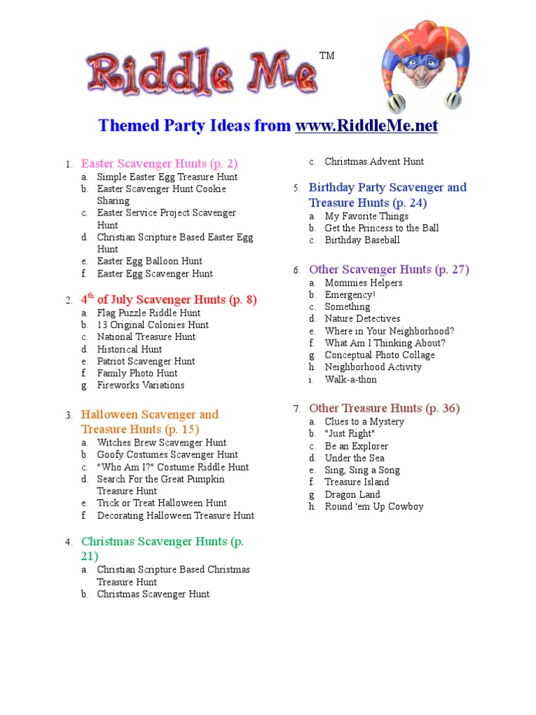 Riddle Me Party Ideas | Mary, Mother Of Jesus | Jesus