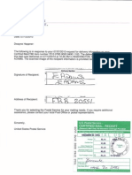 5 Bernanke Notice of Default Proof of Delivery 3