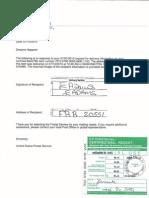 5 Bernanke Notice of Default Proof of Delivery 4