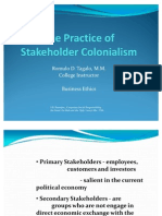The Practice of Stakeholder Colonialism-1