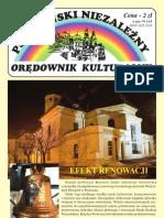 Pszczyński niezależny orędownik kulturalny 107