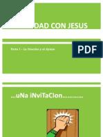 Intimidad Con Jesus