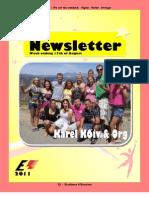 Newsletter Week 9 2011