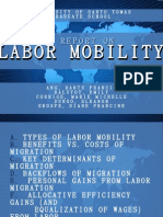 Labor Mobility Report