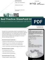 Best Practice SharePoint Intranets - Managing documents and collaboration with SharePoint 2010