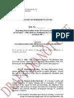 Proposed MSU System Bill
