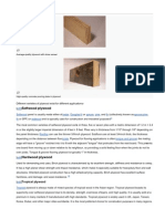 Ttypes of Plywood