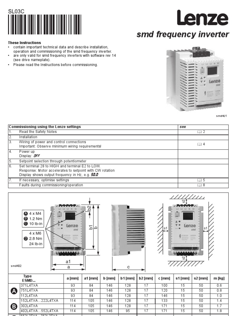 1511626555?v=1 smd manual electromagnetic compatibility mains electricity lenze motor wiring diagram at nearapp.co