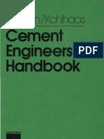 Cement Engineers Handbook