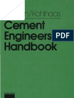 Cement Engineers Handbook