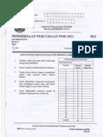 Kertas 2 Trial Math PMR WP 2011