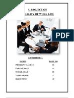 Quality Work Life (Rangers Group) (Viraj Shinde)