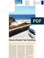"DACIA DUSTER 1.5 dCi 4X4 NO ""DIÁRIO AS BEIRAS"""
