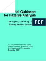 Technical Guidance for Hazards Analysis