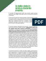 Disturbi della vista in gravidanza e durante l'allattamento