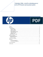 HP Power Calculator Utility
