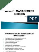 WM Wealth Management Basics